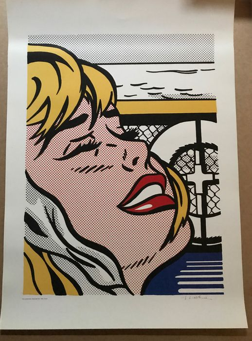 Roy Lichtenstein - after: Shipbordgirl 1965 - Jaren 1990