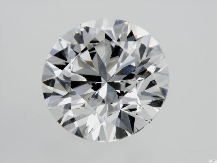Diamond - 1.68 ct - Brilliant - F - IF (flawless)
