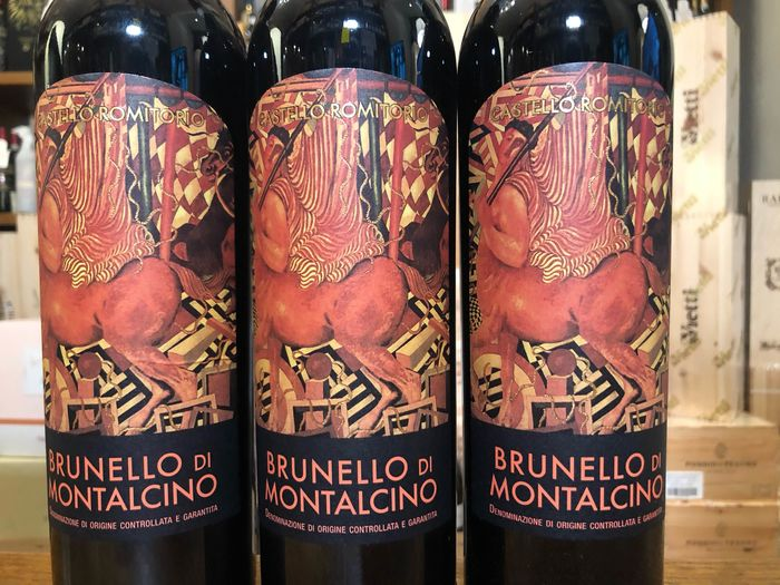 2010 Castello Romitorio - Brunello di Montalcino - 3 Sticle (0.75L)
