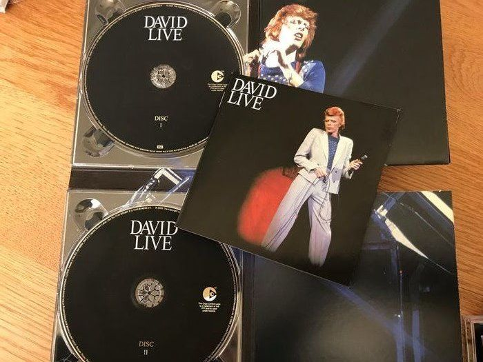 David Bowie - Diverse titels - CD Boxset, CD's - 1969/2005