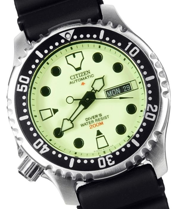 Citizen - PROMASTER  DIVER'S AUTOMATICO ISO 200 ATM - Limited Edition - NY0040 - Heren - 2011-heden