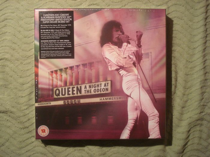 Queen - 'A Night at the Odeon' Super Deluxe Boxed Set - Box set - 1975/2015