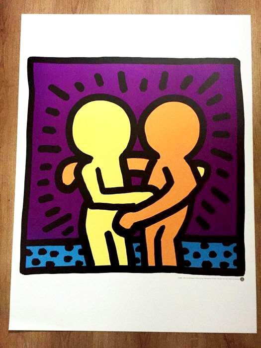 Keith Haring (after)    - Untitled - 1987