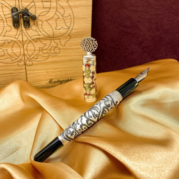 Montegrappa - Fountain pen - Calligraphy Fine Limited Edition ISHYN2SL