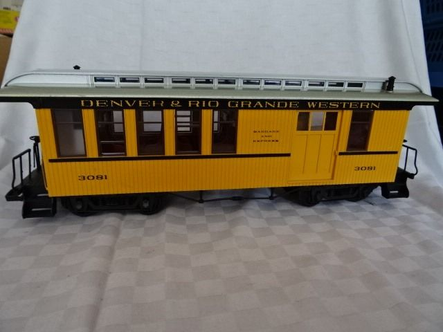 LGB G - 3081 - Freight carriage - Passenger and luggage 30810 baggage trolley D & RGW