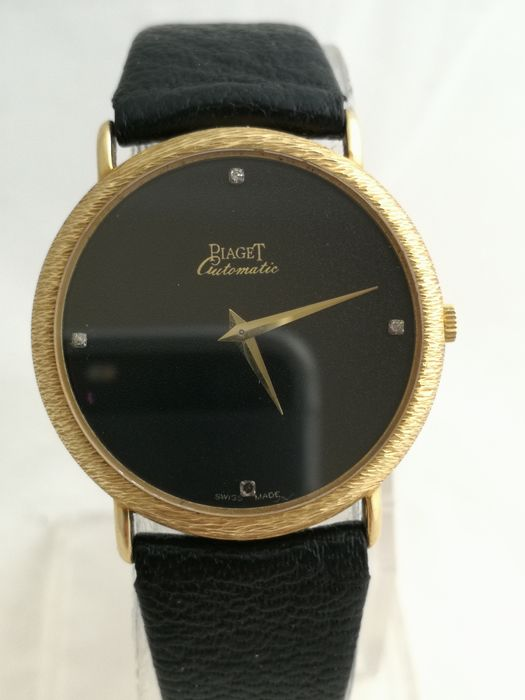 Piaget - Classic - Micro Rotor - 18K Gold - 12342 - Homme - 1970-1979