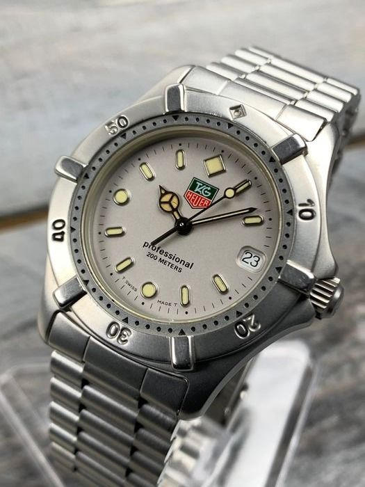"TAG Heuer - Professional 200M Mid-Size - WE1211-R ""NO RESERVE PRICE"" - Heren - 1990-1999"