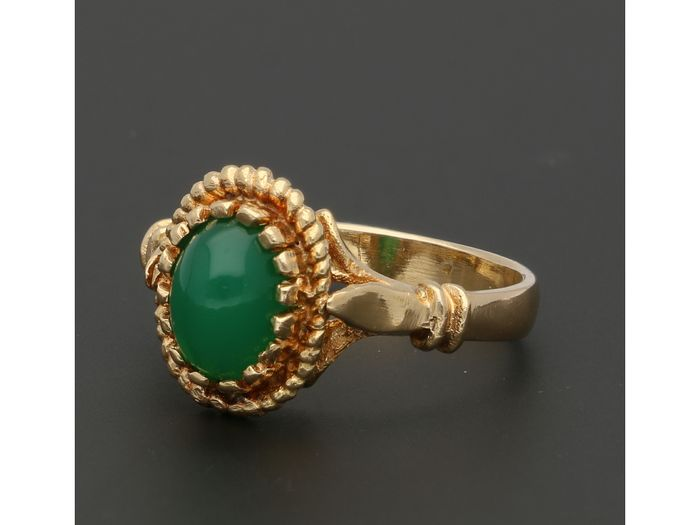 18 kt. Gold - Ring Chrysophraas