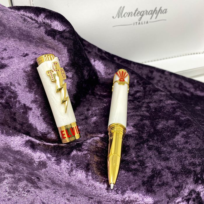 Montegrappa - Rollerball - Limited Edition Icons Elvis Presley Las Vegas Rollerball ISICERYW
