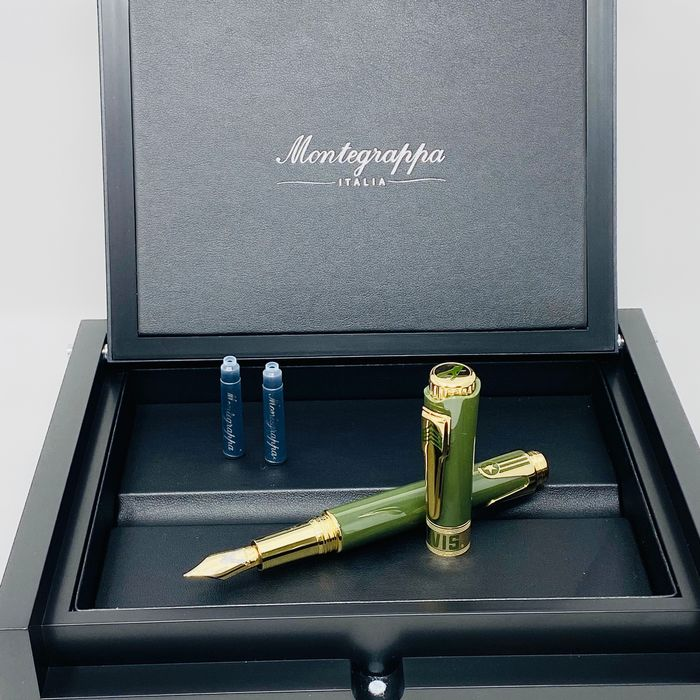 Montegrappa - Fountain pen - Limited Edition Icons Elvis Presley Fountain Pen Medium Las Vegas ISICE3YG