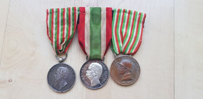 Italy - War medal of independence and unity of Italy