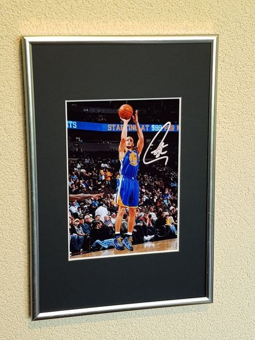 USA - NBA Basketbal - Stephen Curry - Photograph