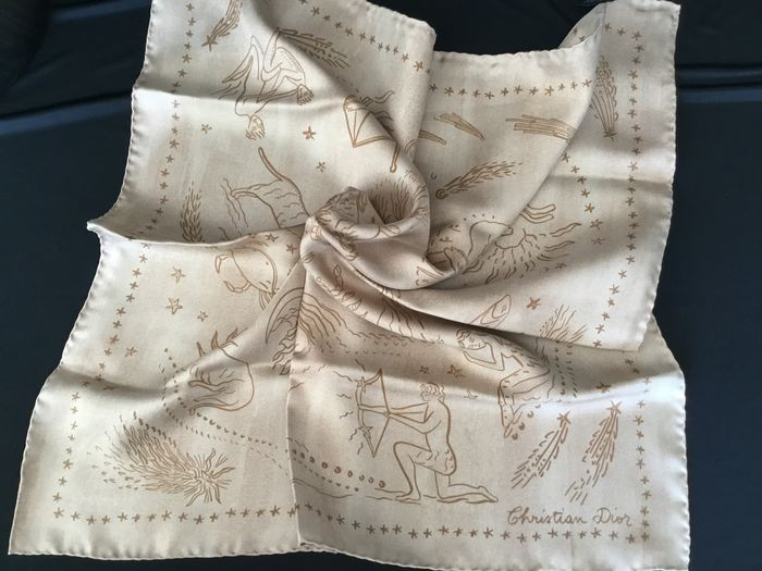 Dior 2 by Christian Dior - Astrologie Small SCARF Scarf