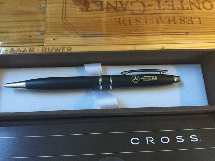 Cross - Ballpoint pen AMG Mercedes-Benz Formula 1 - Group of 2