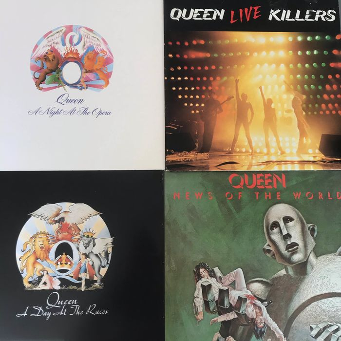 Queen - Multiple titles - 2xLP Album (double album), LP's - 1975/1979
