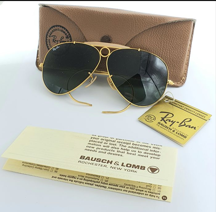 Vintage Ray Ban  - Shooter Bullet  - B&L - U.S.A - new old stock  Occhiali da sole