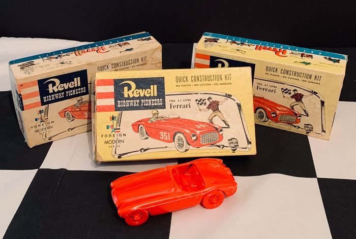 Modelle Spielzeug X3 Revell Highway Pioneers 1952 4 1 Catawiki