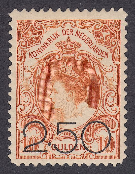 Netherlands 1920 - Clearance issue - NVPH 104