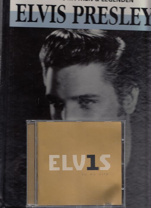 Elvis Presley - CD's & Two Books - Books in Dutch Language - Multiple titles - Book, CD's - 1987/2016