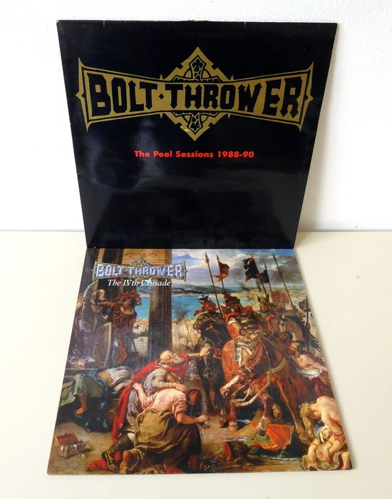 Bolt Thrower - The IVth Crusade / The Peel Sessions 1988-90 - Multiple titles - LP's - 1991/1992
