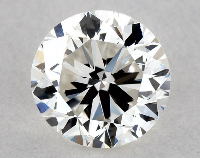 Diamante - 0.50 ct - Brillante - H - VVS2, GD/VG/GD | IGI