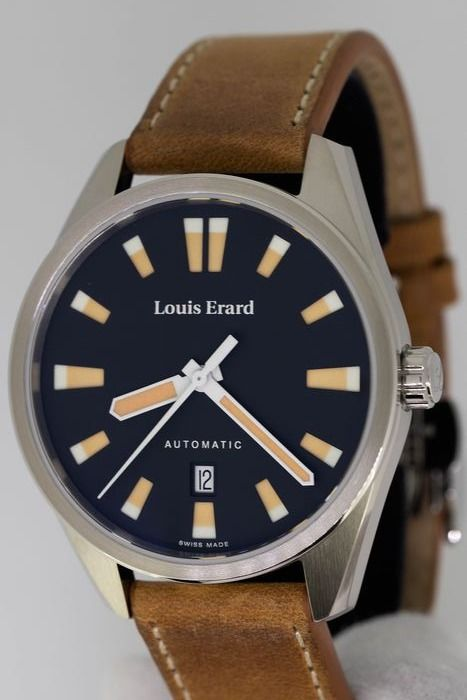"""Louis Erard - Automatic Sportive Collection Swiss Made """"NO RESERVE PRICE"""" - 69108AA02.BVD18  - Uomo - Brand New"""