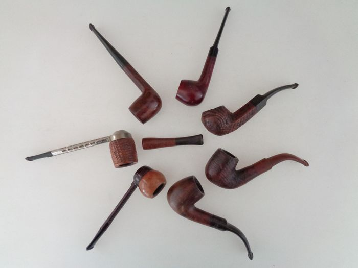 * collection of pipes - Collection of 8