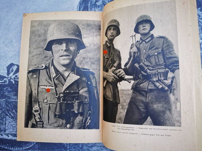 Germany - Soldiers against Death and the Devil - Fight in the Soviet Union Russia Eastern Front Wehrmacht - 1st edition - Book - 1942