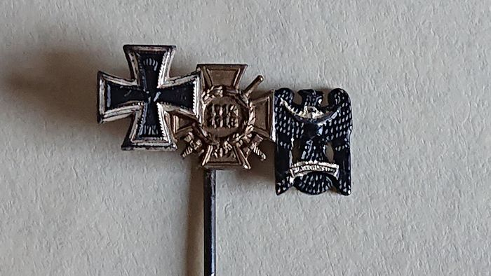 "Germany - Beautiful WW1, tie pin ""Spange""."
