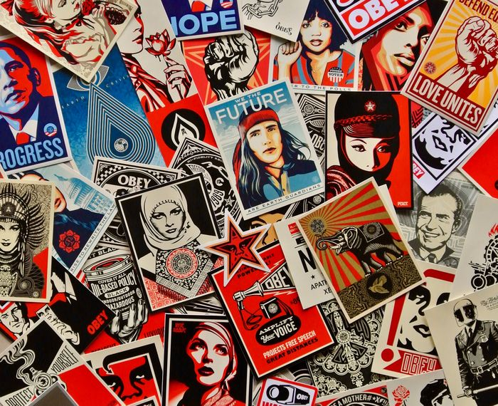 Shepard Fairey (OBEY) - 20 Years of OBEY Sticker Art Collection
