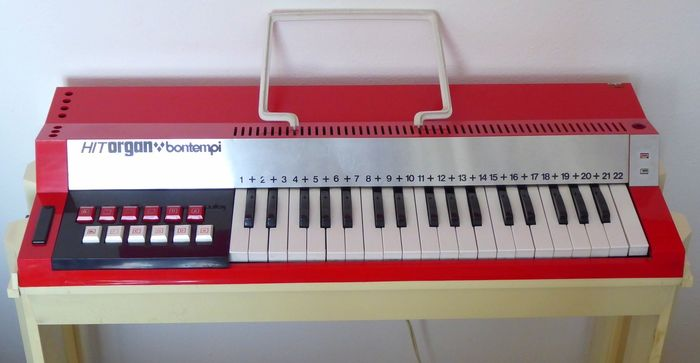 Bontempi  - Hit organ - Harmonium - 1970