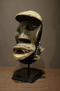 Mask - Wood - Provenance Modou Sow - Dan Kran - Liberia