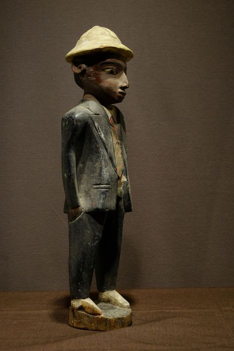 Figure - Wood - Colon - Baule - West Africa