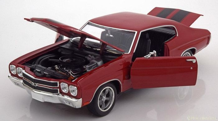 Greenlight - 1:18 - Chevrolet Chevelle SS 1970 - Fast & Furious - Dominic.