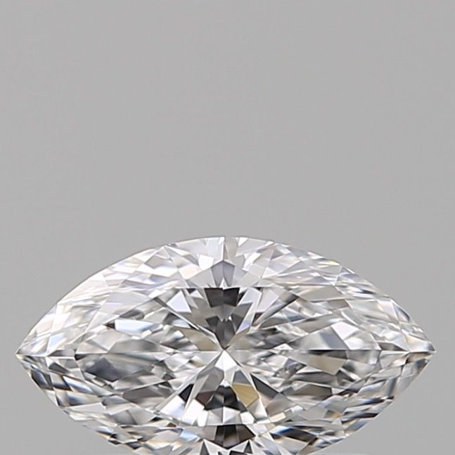 1 pcs Diamond - 0.42 ct - Marquise - D (colourless) - IF (flawless)