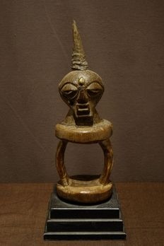 Oracle - Horn, Wood - Katatora- Provenance Schoonbroodt - Songye - Congo DRC