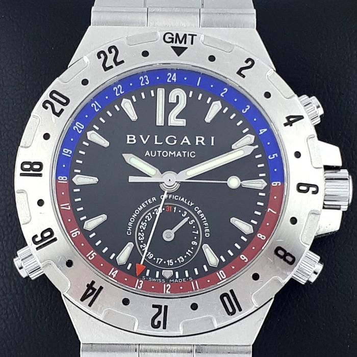 Bulgari - Diagono Professional GMT - GMT 40 S - Men - 2011-present