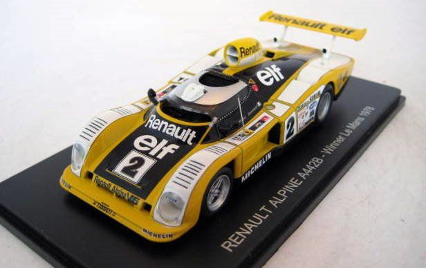Spark - 1:43 - Renault Alpine A442B #2 D.Pironi/J.P.Jaussaud Winners Le Mans 1978 - Limited Edition - Mint Boxed