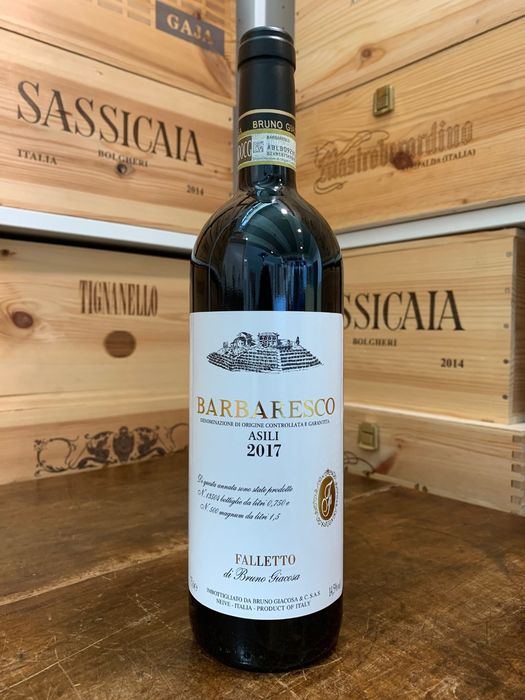 "2017 Bruno Giacosa ""Asili"" - Barbaresco - 1 Bottle (0.75L)"