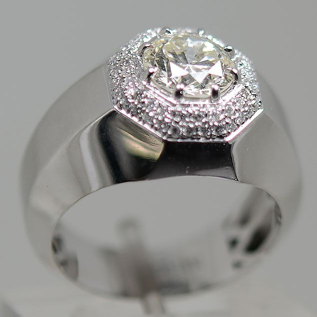 950 Platino - Anillo - 2.00 ct Diamante - Diamantes