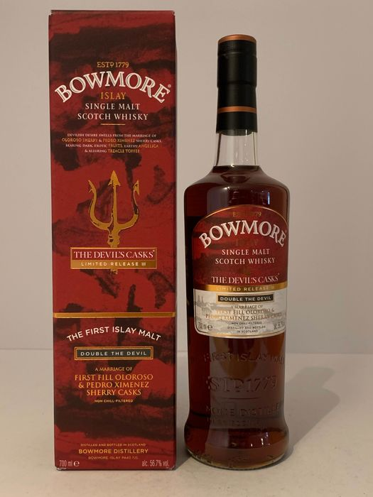 Bowmore Devil's Cask III - Original bottling - 70cl
