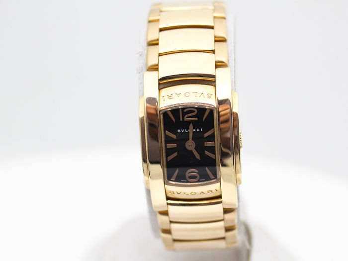 Bvlgari - Assioma 18K Rose Gold - AAP26G - Women - 2000-2010
