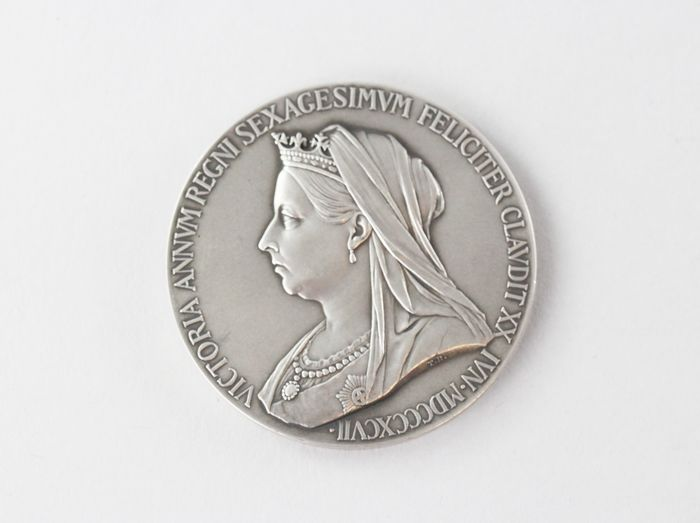 United Kingdom - Medal commemorating the Diamond Jubilee of the reign of Queen Victoria 1897 - Silver