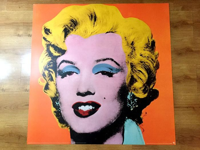 Andy Warhol (after) - Shot Orange Marilyn, 1964 - 1995