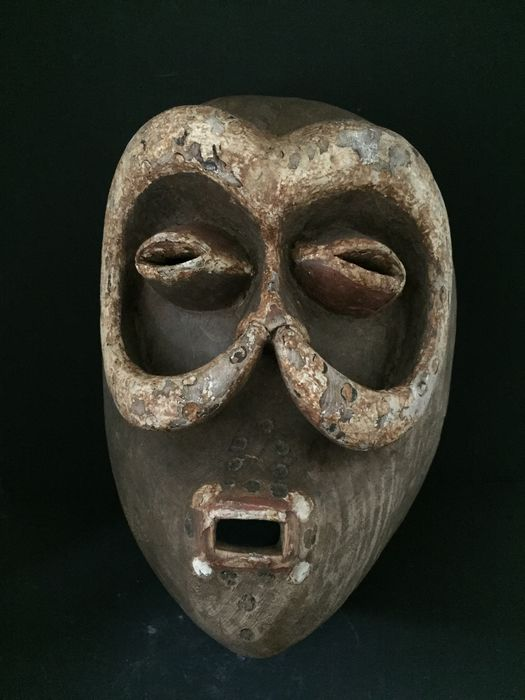 Authentic old African NYABWA mask - BETE - Ivory coast (1) - Wood - Côte d'Ivoire