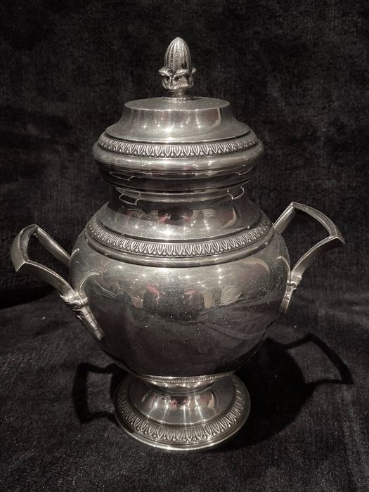 Magnificient British 19e-20e eeuw (Époque Edward VII 1901-1910) SugarPot - Verzilverd