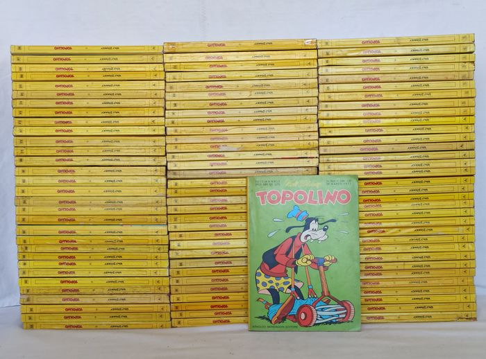 Topolino nn.800/899 - sequenza completa - Trade Paperback - First edition - (1971)