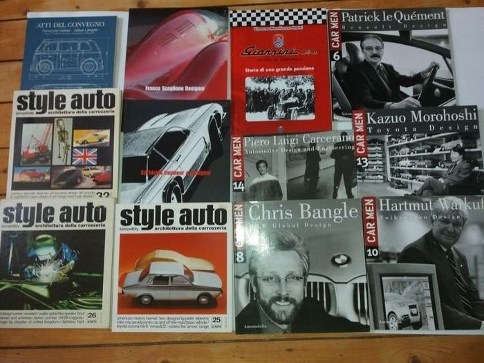 Books - Car Styling/Design Boeken