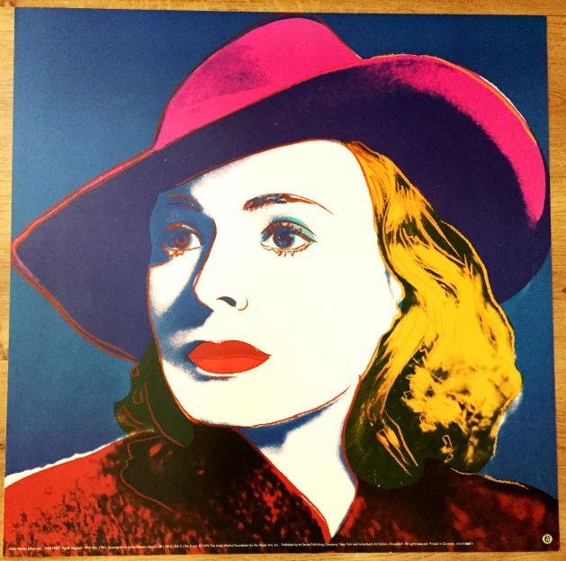 Andy Warhol (after) - Ingrid Bergman, With Hat, 1983