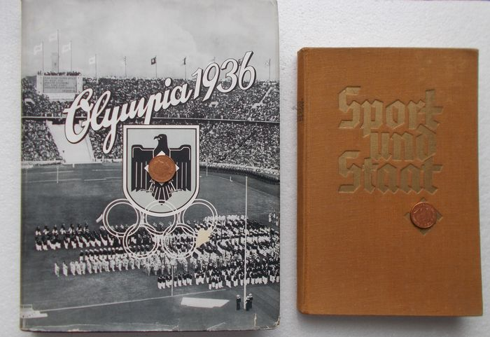 """Olympic Games - 1936 - Sport in the Third Reich; Berlin """"Olympia"""" album + """"Sport und Staat"""""""